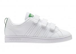 Scarpe ADIDAS Vs Advantage Clean AW4880CMF C Ftwwht/Ftwwht/Green