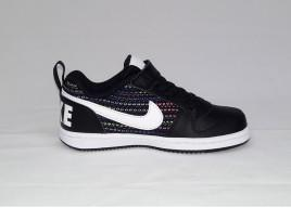 SCARPE NIKE COURT BOROUGH LOW AQQ364 001 SE PLV BLACK/WHITE-VOLT-RACER BLUE