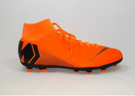 Scarpe NIKE AH7363 810 SUPERFLY 6 CLUB FG/MG TOTAL ORANGE/BLACK