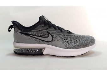 Scarpe NIKE AIR MAX SEQUENT 4 (GS) AQ2244 003 WOLF GREY/WOLF GREY-AHTHRACITE